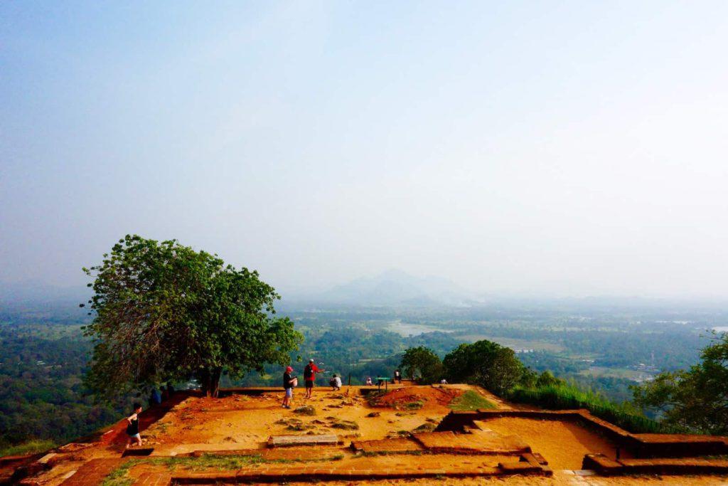 sigiriya uitzicht